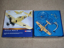 Focke Wulf FW-190 1:72 Corgi Diecast Factory Built Model Airplane  AA34304  RARE