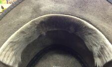 Sweat Band 26 cm long Kangaroo fur leather  hat rejuser Australia Jacaru comfor