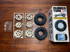 Vintage Rare Tamiya Super Champ Buggy Spike Tyre Set (Rear) New Old Stock