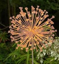Gartenstecker aus Metall mit Blumen-Motiv günstig kaufen | eBay