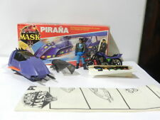 VINTAGE MASK M.A.S.K. PIRANHA BRAND PLAY FUL W/ SLY RAX COLORED VARIANT RARE