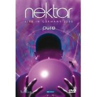 "NEKTAR ""PURE LIVE IN GERMANY"" 2 DVD NEW"