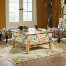 Lift Top Coffee Table - Viabella Collection - Antigua Chestnut (420124)