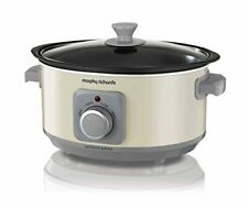 Morphy Richards Slow Cooker Sear and Stew 460013 3.5L Cream Slowcooker