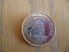 THE FIRST WORLD WAR LORD KITCHENER 2 POUND COIN RARE ROYAL MINT ERROR