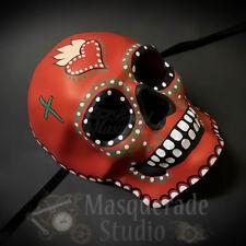 Day of the Dead Full Face Skull Infernal Heart Halloween Masquerade Mask