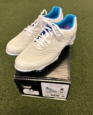 New FootJoy Aspire Women's Golf Shoe Size 8M White/Blue