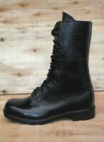 AUSTRALIAN ARMY G.P. BOOTS - SIZE 3 BLACK MADE BY DUNLOP NOS