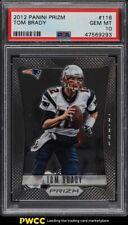 2012 Panini Prizm Tom Brady #116 PSA 10 GEM MINT
