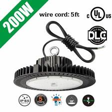 200W UFO LED High Bay Light Replace 1000Watt HPS Workshop Warehouse Light 5000K