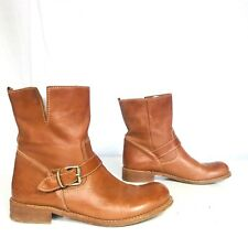 Lavorazione Artigiana Italy size 41 US 8.5 men Carrter cognac brown riding boots