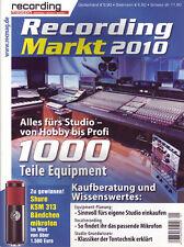Alles fürs Musikstudio -1000 Teile Musikequipment - Equipment Planung