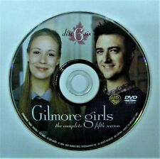 (ZERO SCRATCHES) GILMORE GIRLS - SEASON 5 DISC 6 REPLACEMENT DVD DISC ONLY