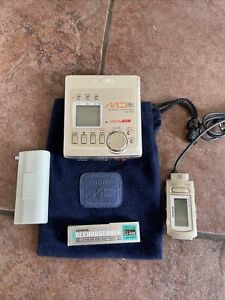AIWA AM-F80 MINIDISC MD RECORDER / PLAYER + ACCESSORIES - SPARES & REPAIR Works