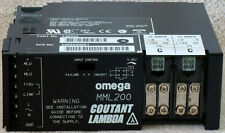 Coutant Lambda Omega MML200 industrial power supply PSU 200W 14V 12A