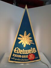 alte Leuchtreklame EDELWEISS Rahm-Brie