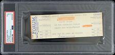 1979 Cheap Trick The Forum Full Concert Ticket (Psa Fr 1.5 Slabbed)