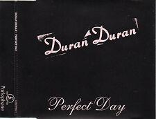 "DURAN DURAN ""PERFECT DAY"" RARE PROMO CD SINGLE + PRESS NOTE FOR DJs / LOU REED"