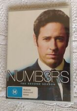 NUMBERS - THE SECOND SEASON (DVD, 6-DISC SET) REGION-4, NEW, FREE POST AUS-WIDE