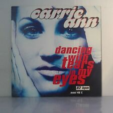 """Carrie Ann – Dancing With Tears In My Eyes (Vinyl 12"""", Maxi 45 Tours)"""