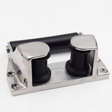 Universal Mirror Polished Type 316 Stainless Steel Marine Boat Roller Fairlead