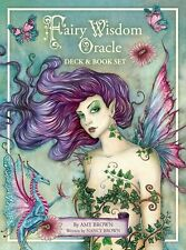 Fairy Wisdom Oracle New Sealed Deluxe 64 cards 140 pg Hc Book Amy & Nancy Brown