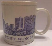 Starbucks 2008 Architect Series Fort Worth Cowtown Coffee Mug 18 Fl Oz