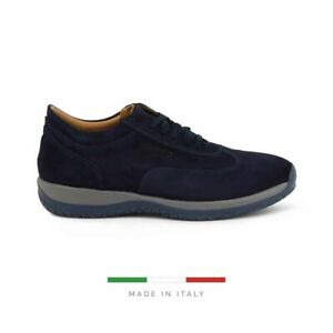 Sparco Imola-GP1 Blue Shoes Sneakers in Suede