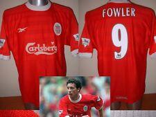 Liverpool Fowler Football Soccer Jersey Shirt Reebok Large Trikot Maglia Top
