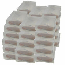 32x Cajas Almacenaje Botas PP384 Apilable Plegable Organizador Transparente