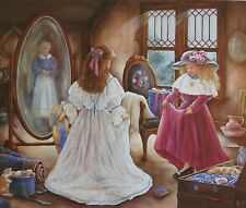 GRANNYS ATTIC BY PAULA VAUGHAN COA NEW PRINT