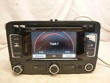 10-16 Volkswagen RNS315 Beetle Golf Radio Cd Gps Navigation & CODE 1K0035274B