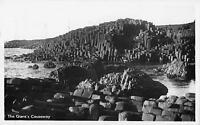 uk17791 giants causeway northern ireland real photo uk