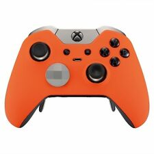 Soft Orange Xbox One ELITE Rapid Fire Modded Controller 40 Mods for COD Destiny