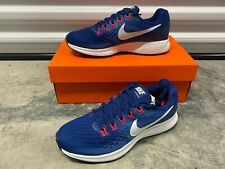 Nike Women's Air Zoom Pegasus 34 Running Shoes Blue White Pink 880560-410 NEW