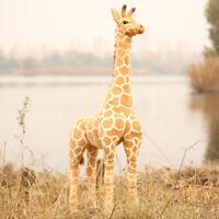 70CM Big Plush Giraffe Toys Giant Large Stuffed Cute Animal Doll Kids Gift AU