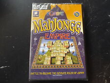 Mahjongg Imperio PC CD-ROM Nuevo Sellado post rápido
