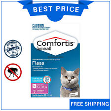 COMFORTIS for Cats 3 Chews 1.4 to 2.7 Kg PINK Pack Chewable Cat Flea treatment