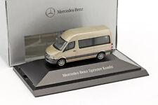 Mercedes-benz Sprinter Break Perle Argent Métallique 1 87 Herpa