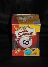 The Simpsons Magic 8 Ball Homer Sayings Bart You Said it Weirdo D'Oh Well Duh