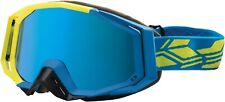 Castle X Racing Trace Snow Goggle Matte Hi-Vis/Process Blue New with Tags