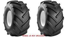 2 (Two) New 13X5.00-6 13X500-6 13x5.00x6 Tbls Carlisle Super Lug Tiller Tires