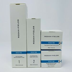 Rodan and + Fields New Formula REDEFINE Regimen: Daily Clay Cleanser AM PM Cream