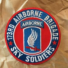 """173rd Airborne Brigade """"Sky Soldiers"""" Military Patch"""