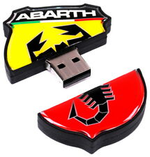 Abarth Logo USB Memory Stick Flash Drive Storage 16GB New Genuine 6002350220