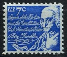 USA 1971 SG#1384, 7c Benjamin Franklin MNH #D55477