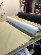 Heavy Grain Beige  Car Upholstery Vinyl Leather Look Material