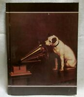 "Nipper Victor Edison dog phonograph diary address note book 6-1/4"" x 8-1/4"" NOS"