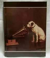 """Nipper Victor Edison dog phonograph diary address note book 6-1/4"""" x 8-1/4"""" NOS"""