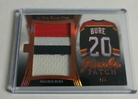 VALERIE BURE - 2017 IN THE GAME USED - JUMBO PATCH - #7/8 - PANTHERS -